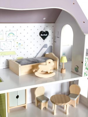 Lėlių namas 70 cm88