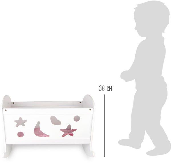 Кроватка для кукол3
