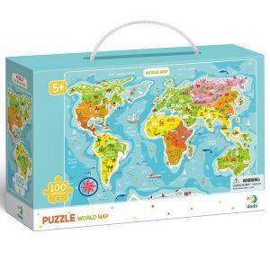 Dėlionė Pasaulio žemėlapis11