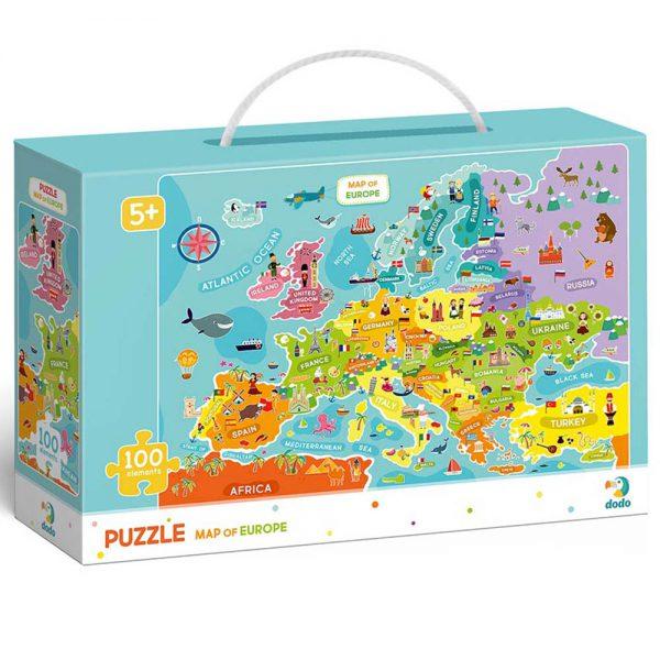 Dėlionė Pasaulio žemėlapis