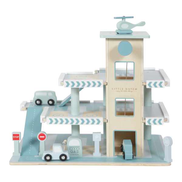 Medinis garažas, parkingas