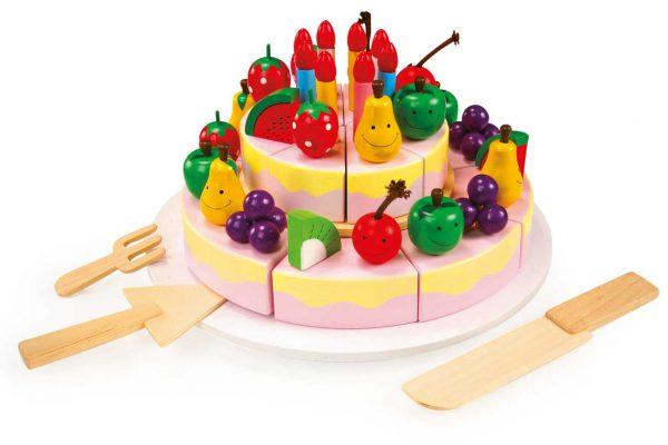 Medinis Vaisių tortas