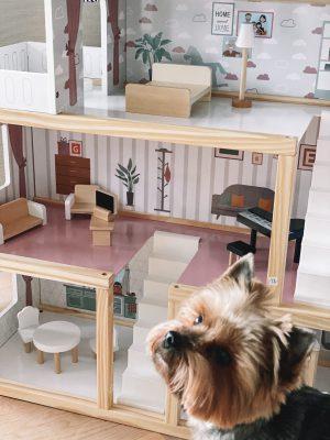Lėlių namas 77 cm10