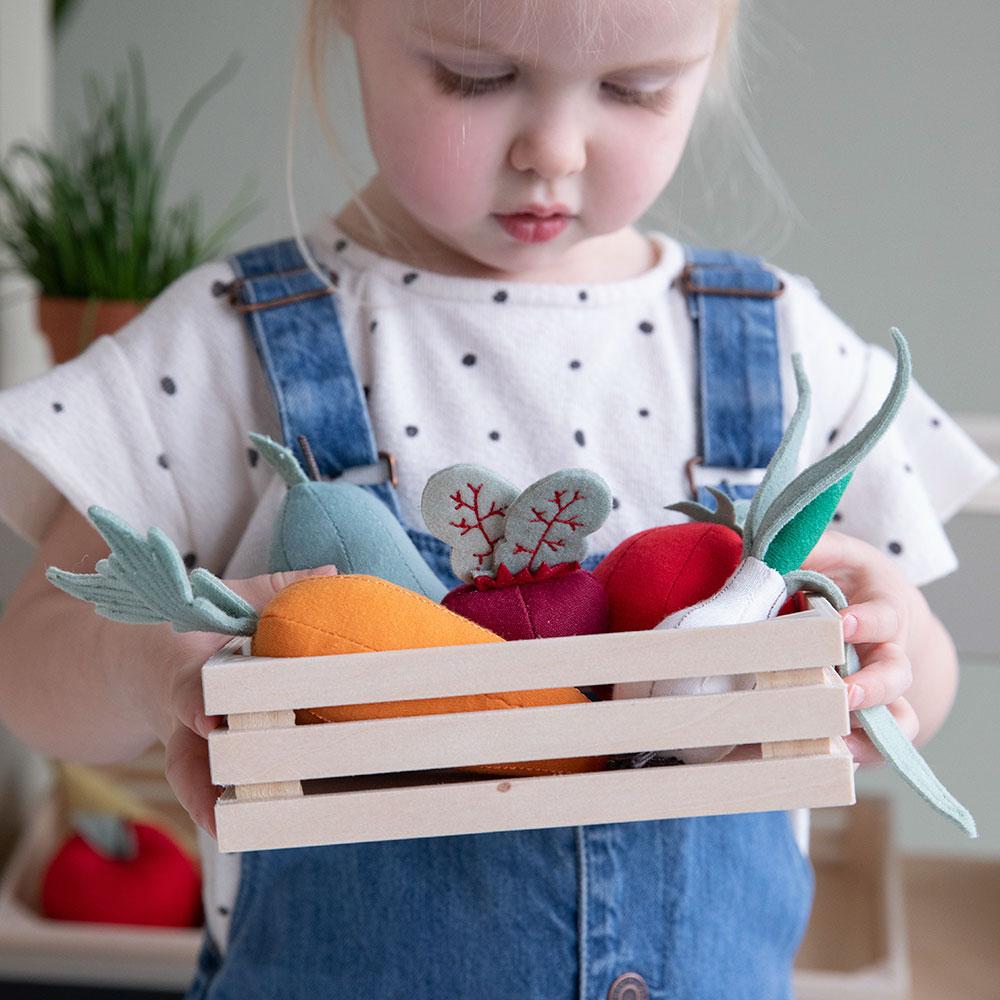 Mediniai virtuvės įrankiai vaikams