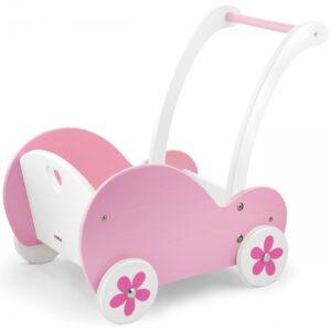 Medinis lėlių vežimas9