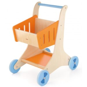 Medinis parduotuvės vežimėlis13