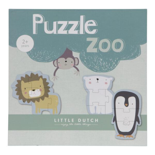 Dėlionė Zoologijos sodas