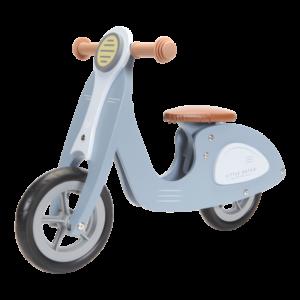 Medinis vaikiškas motoroleris51