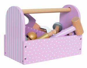 Įrankių lagaminas Rausvas7