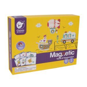 Magnetinė dėlionė Transportas170