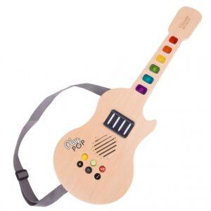 Деревянная электрическая светящаяся гитара89