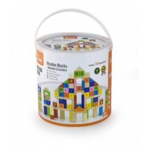 Деревянные развивающие кубики 100 элементов92