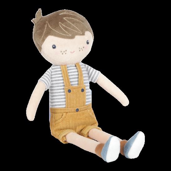Pliušinė lėlė Jim 35 cm