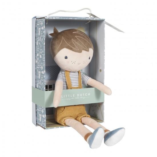 Pliušinė lėlė Jim 35 cm4
